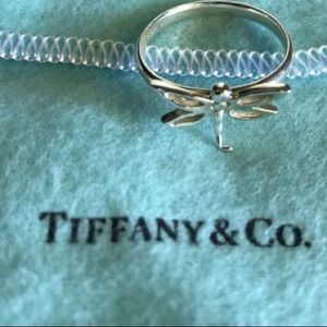 Tiffany and coming Dragonfly Ring Size 5.5/6
